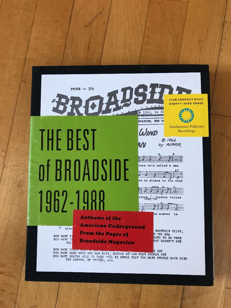 Broadside recordings cover